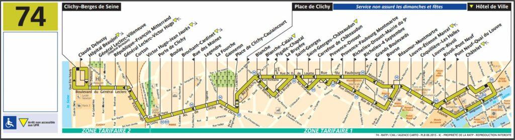 Ligne de bus 74