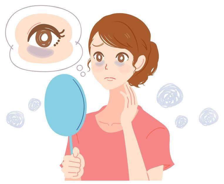 Peeling contour des yeux pour les cernes pigmentés, foncés