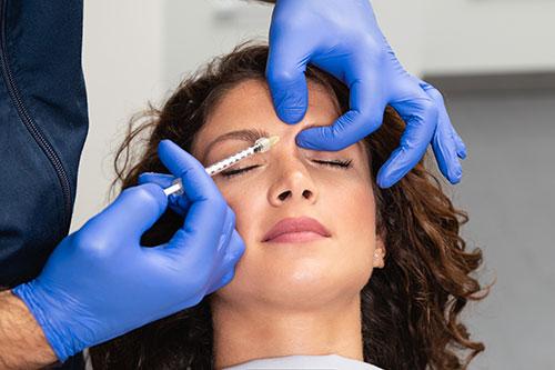 Injection de Botox à Paris - Dr Denjean